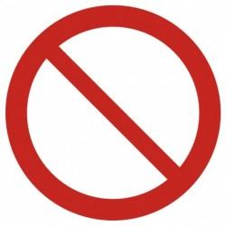 GAP 001 Ogólny znak zakazu