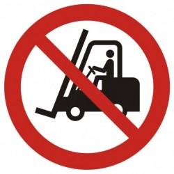 GAP 006  Zakaz ruchu urządzeń do transportu poziomego