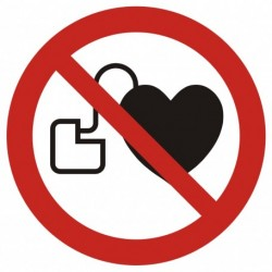GAP 007  Zakaz wstępu osobom ze stymulatorem serca