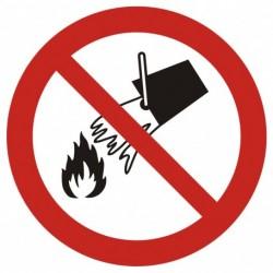 GAP 011  Zakaz gaszenia wodą