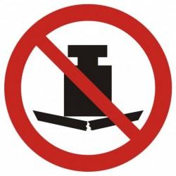 GAP 012 Zakaz umieszczania ciężkich przedmiotów