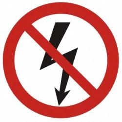 GB005 Nie załączać urządzeń elektrycznych