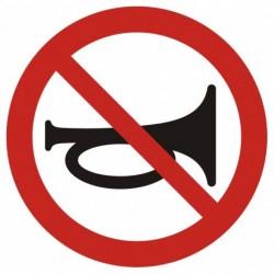 GB007 Zakaz używania sygnałów dźwiękowych