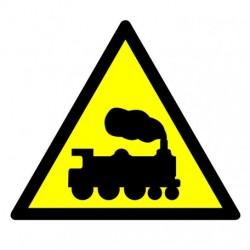 GE004 Ostrzeżenie - rampa lub przejazd kolejowy