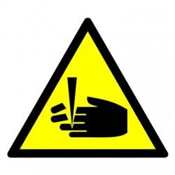 GE008  Ostrzeżenie przed niebezpieczeństwem obcięcia palców