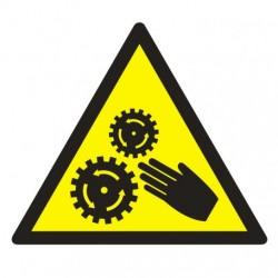 GE015  Uwaga ! Elementy ruchome