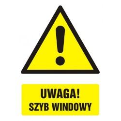 GF003 Uwaga! szyb windowy