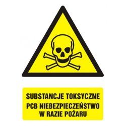 GF008 Substancje toksyczne.PCB Niebezpieczeństwo w razie pożaru