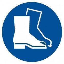 GJ M08 Nakaz stosowania ochrony stóp