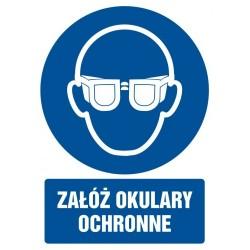 GL 003 Załóż okulary ochronne