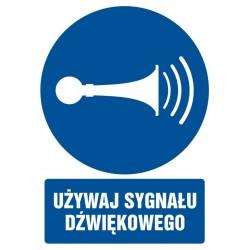 GL 010 Używaj sygnału dźwiękowego