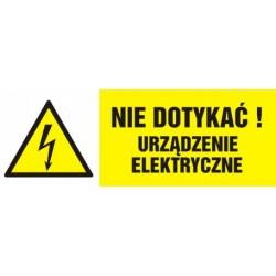HB 001 Nie dotykać! Urządzenie elektryczne