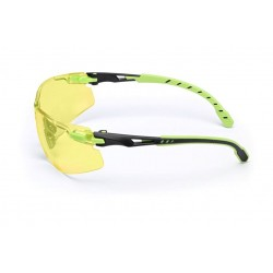 Okulary Solus Scotchguard zielono-czarne, żółte