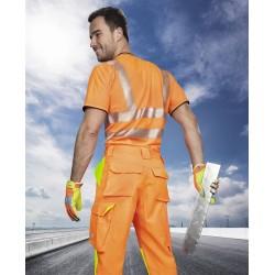 Spodnie do pasa SIGNAL, pomarańczowe
