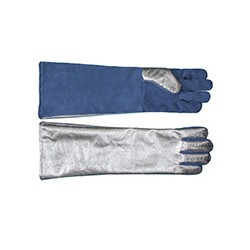 rękawice żaroodporne 5-palcowe krótkie