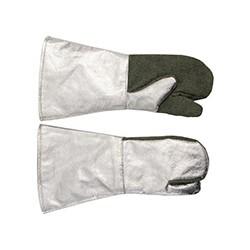 Rękawice żaroodporne 1-palcowe długie