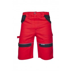 Szorty COOL TREND czerwono-czarne