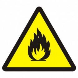 BA 014 Niebezpieczeństwo pożaru - materiały łatwopalne