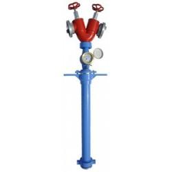 Stojak hydrantowy z wodomierzem