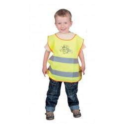 Dziecięca kamizelka odblaskowa ALEX żółta