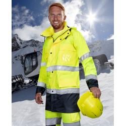 Kurtka ostrzegawcza żółto-granatowy MAXWELL