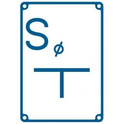 JB 004 Tablica orientacyjna dla zasuwy odwadniającej (SPUST)