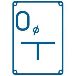 JB 005 Tablica orientacyjna dla odpowietrznika