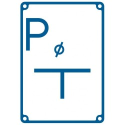 JB 009 Tablica orientacyjna punktu pomiarowego