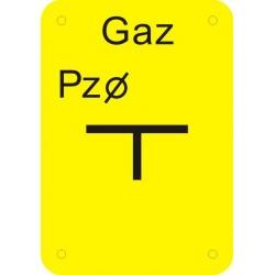 JC 009 Tablica punktu załamania gazociągu