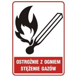 JD 003 Ostrożnie z ogniem - stężenie gazów