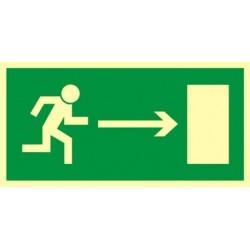 AA002 Kierunek do wyjścia drogi ewakuacyjnej w prawo