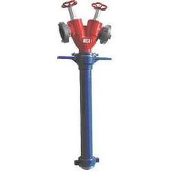 Stojak hydrantowy z wodomierzem B/BB 2x75