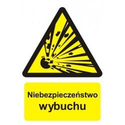 BC004 Niebezpieczeństwo wybuchu - materiały wybuchowe