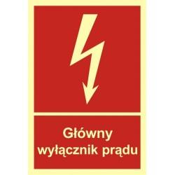 BC 008 Główny wyłącznik prądu