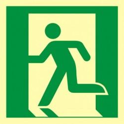 AAE001 Wyjście ewakuacyjne (lewostronne)