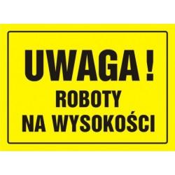 OA004 Uwaga! Roboty na wysokości