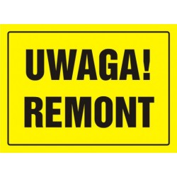 OA010 Uwaga! Remont